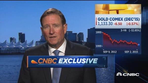 Gold price good despite volatiltiy: Goldcorp CEO