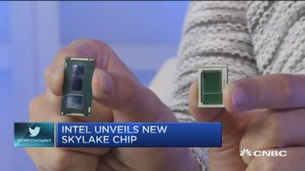Intel unveils new 'Skylake' chip