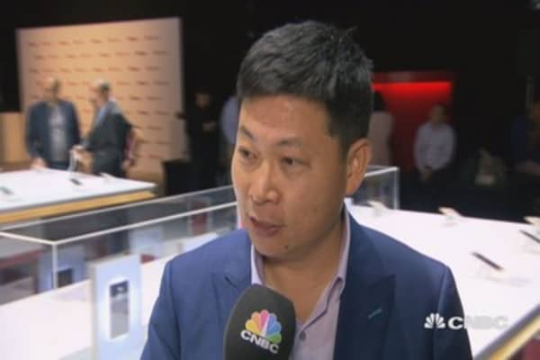Huawei CEO sees future growth
