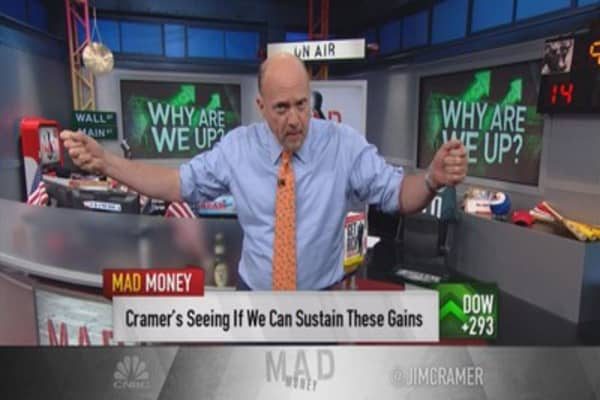 Cramer: Sellers exhausted or calm before storm?