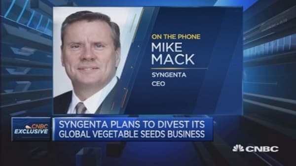 The market hasn't appreciated our worth: Syngenta CEO