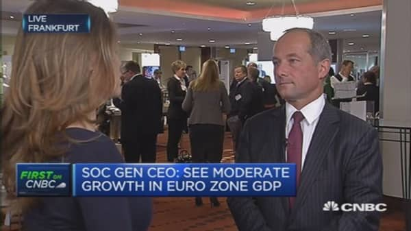 France is not the sick man of Europe: SocGen CEO