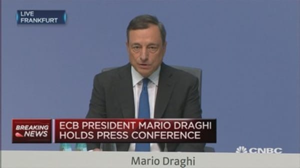 ECB increases QE purchasing limit