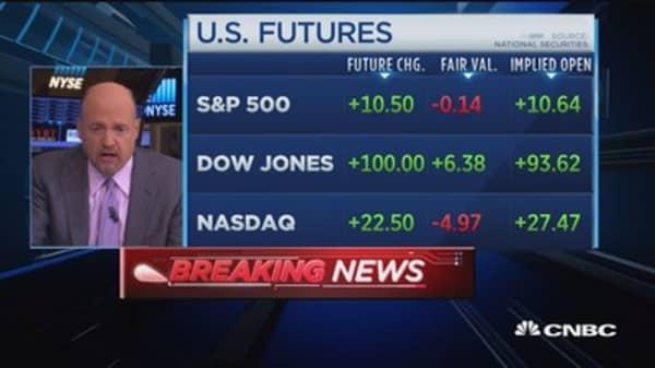 Markets? I don't buy Shiller's it's dangerous: Cramer