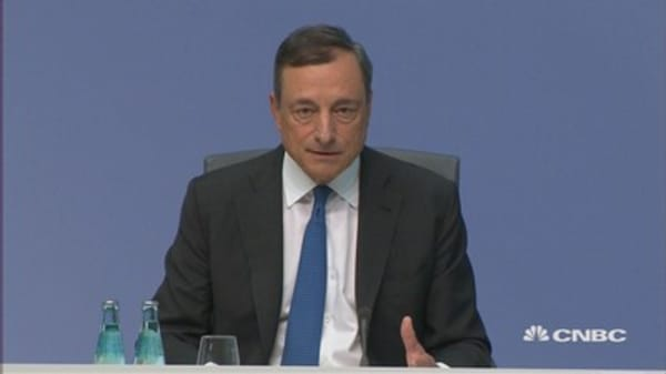 Unclear whether China weakness is permanent: Draghi
