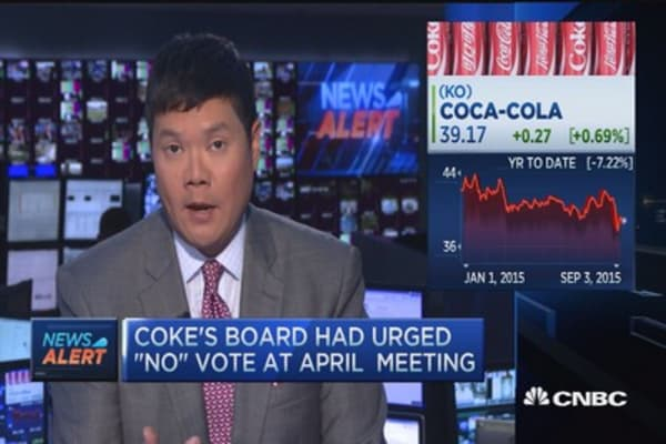 Coke shareholders can now nominate directors