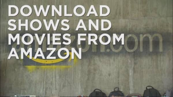 Amazon offers downloadable videos to Prime members
