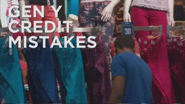 Millennials have lowest credit score of any generation