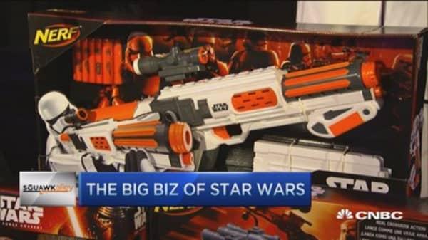 The big biz of 'Star Wars'