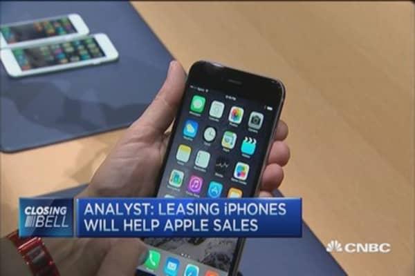 Leasing iPhones: Helpful or hurtful?