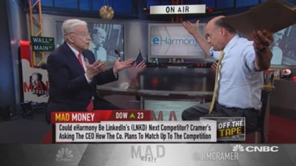 Cramer: The company matching you to a lover AND a job