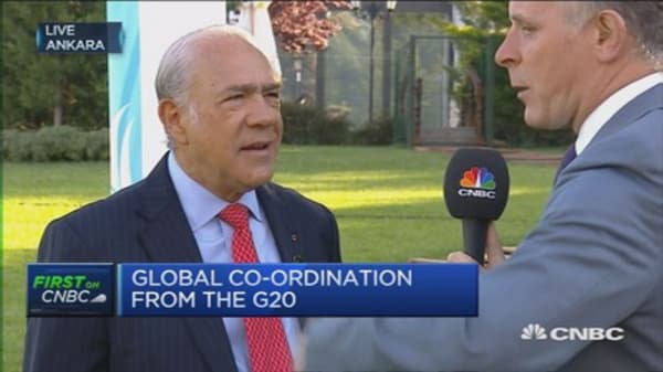 Progress is 'unexpectedly difficult': OECD's Gurria