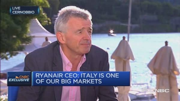 Airlines to cut fares on oil price drop: O'Leary