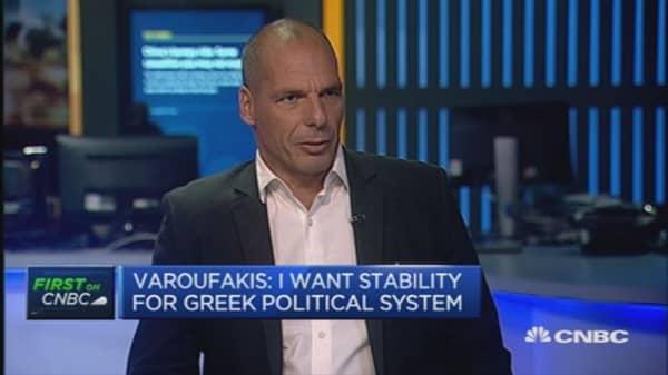 Varoufakis: I'm not endorsing Syriza