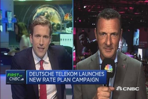 Deutsche Telekom sees an increase in consumer consumption