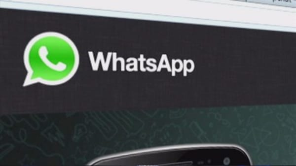 WhatsApp hits a milestone