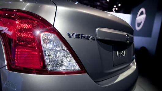 Nissan Motor Co. 2012 Versa.