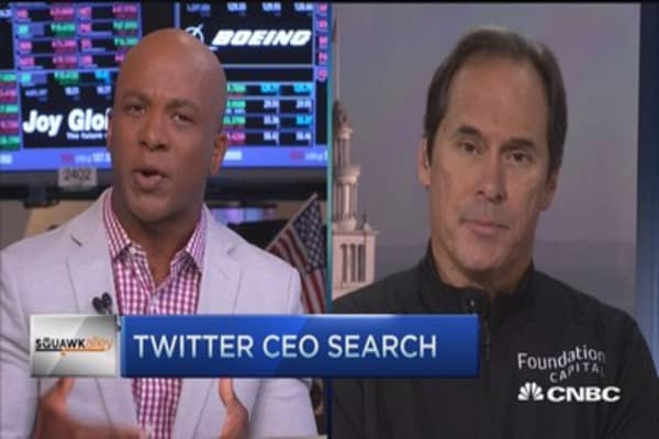 Hunt for leadership at Twitter