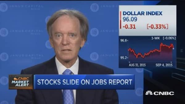 Bill Gross: Jobs data sufficient for Sept. or Dec. hike