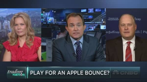 Apple event to boost the stock?