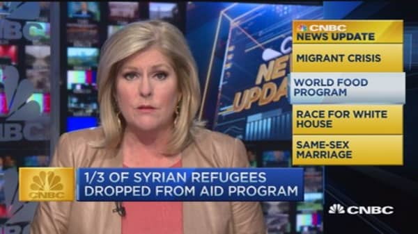 CNBC update: Hungary busing migrants to Austria