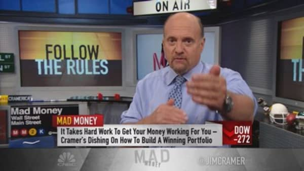 Cramer: Best way to protect yourself in the chaos