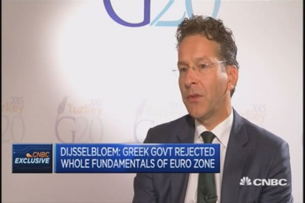 It's going to take time to trust Greece again: Eurogroup President
