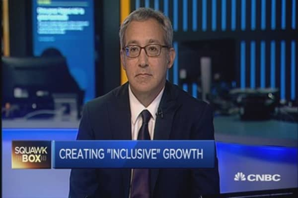 WEF report: Countries must do more on inclusive growth