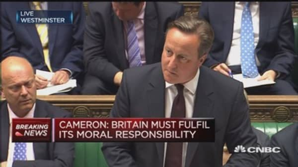 UK will play its part in migrant crisis: PM