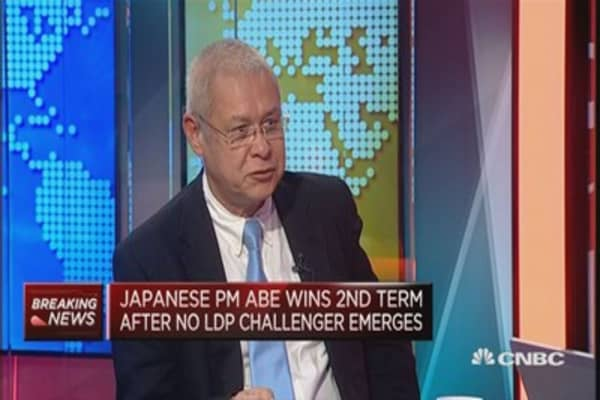 Abe wins second term and that's good for Japan: Pro