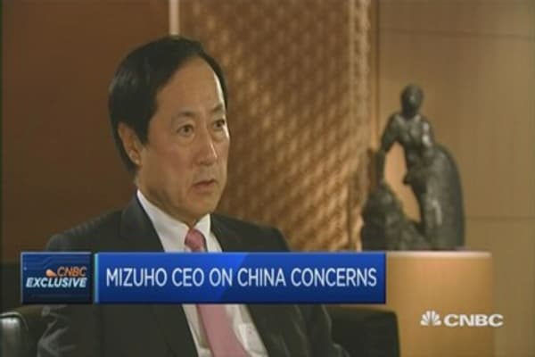 Mizuho CEO: China isn't the 'killer factor' for Japan