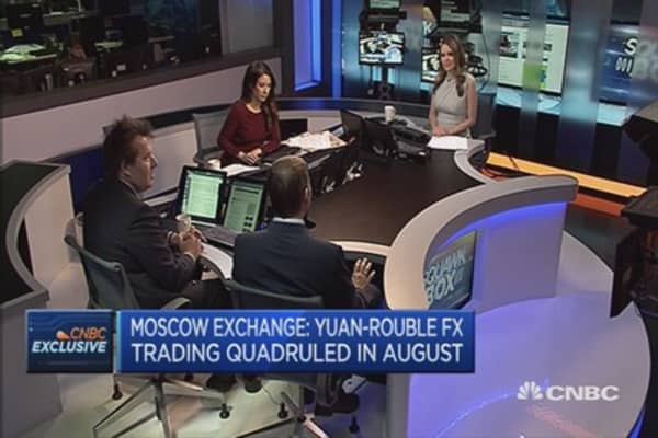 Russian volatility back to 'normal': Moscow Exchange CFO