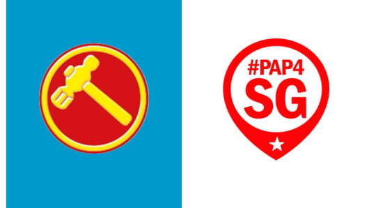 The mobile app logos of 'WP News' and 'PAP4SG'