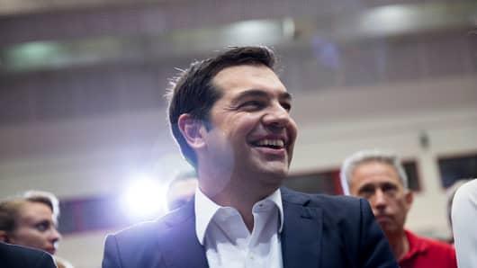 Alexis Tsipras, former Greek prime minister.