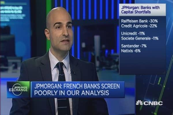Avoid commodity-exposed banks: JPMorgan