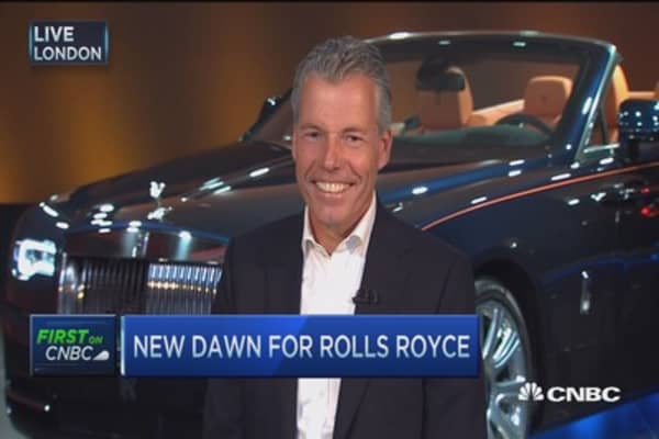 Sexiest Rolls-Royce ever: CEO