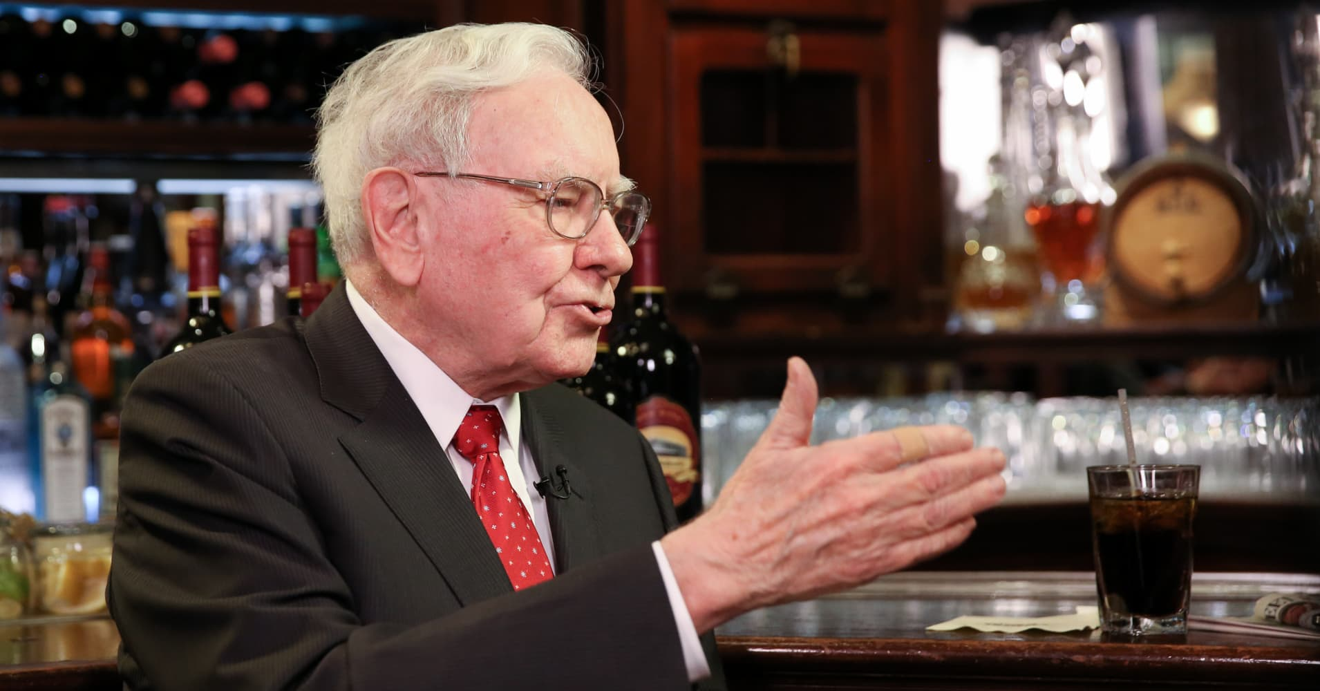 Warren Buffett: I'll judge Trump by how he handles the No. 1 threat to US security
