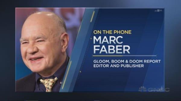 Marc Faber on Asia turmoil