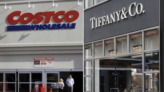 Costco ordered to pay damages over counterfeit Tiffany rings
