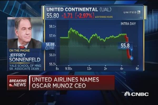 United board very governance savvy: Sonnenfeld