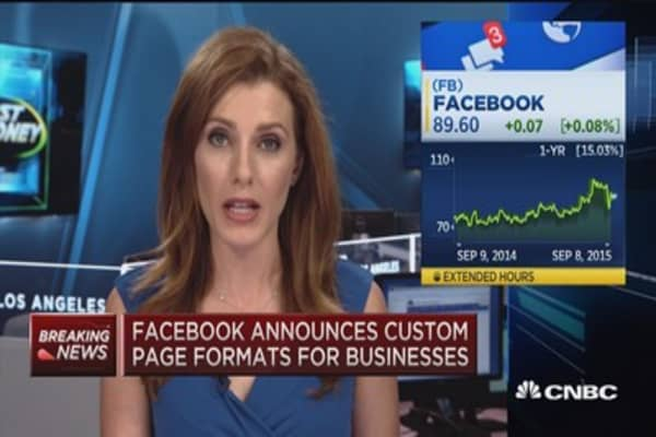 Facebook's revenue plan for small businesses