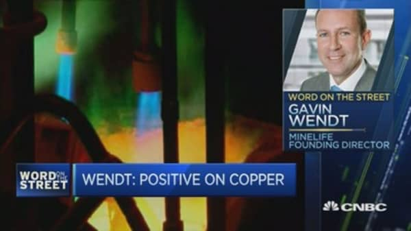 Behind the pop in copper prices