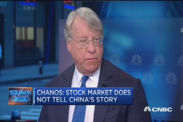 China's credit event still to come: Jim Chanos
