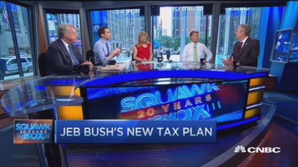 Jeb Bush: Tax reform that stimulates growth