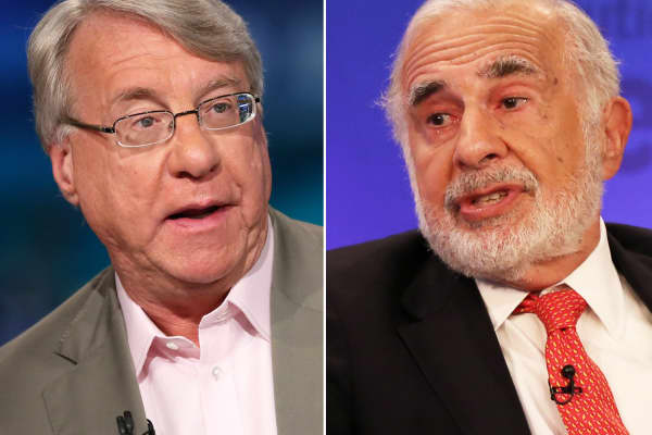 Jim Chanos and Carl Icahn