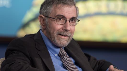 Nobel Prize-winning economist Paul Krugman