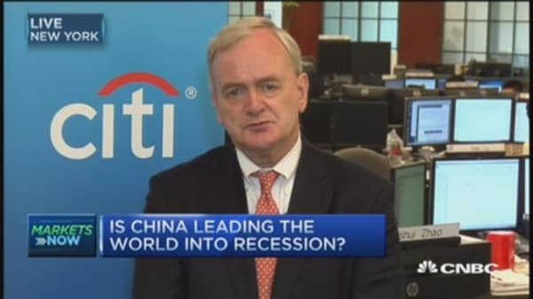 China leading world into recession?