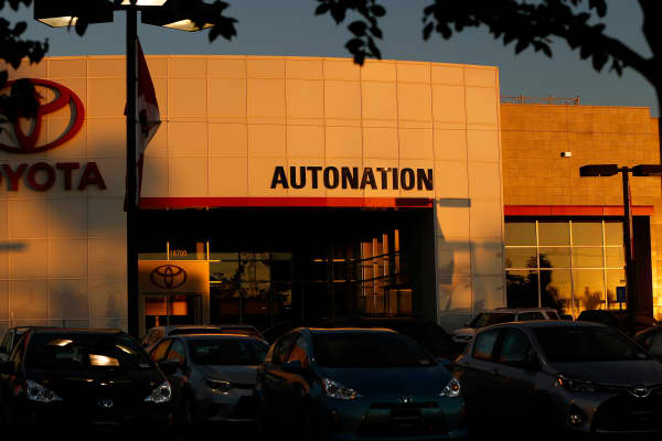 An AutoNation location in Cerritos, California
