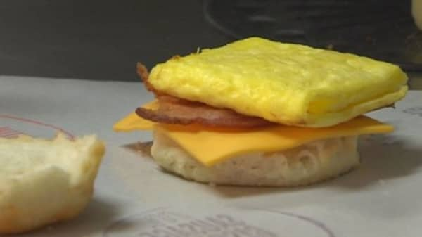 Egg 'McMuffins' now cage-free