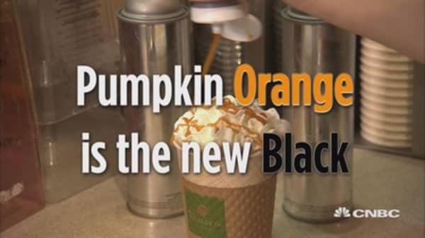 Pumpkin orange is the new black